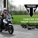 Test MissBiker: Triumph Tiger 800 Xrx