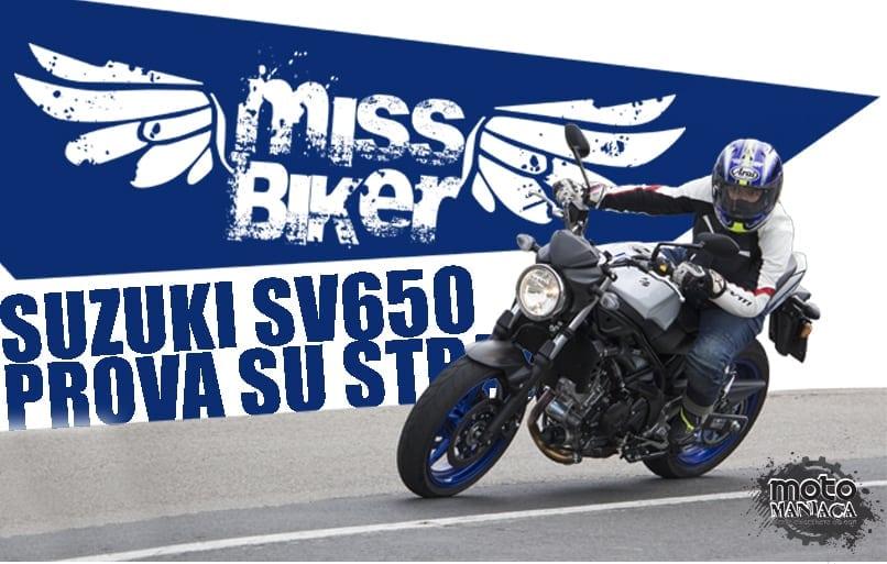 Test MissBiker: la nuova Suzuki SV650 – torna la fun bike