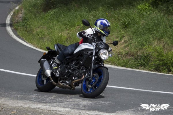 Test MissBiker: la nuova Suzuki SV650 - torna la fun bike 23