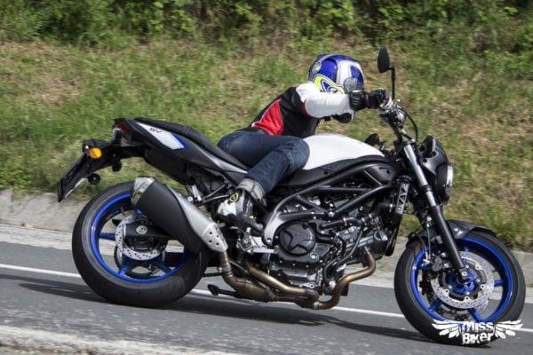 Test MissBiker: la nuova Suzuki SV650 - torna la fun bike 24