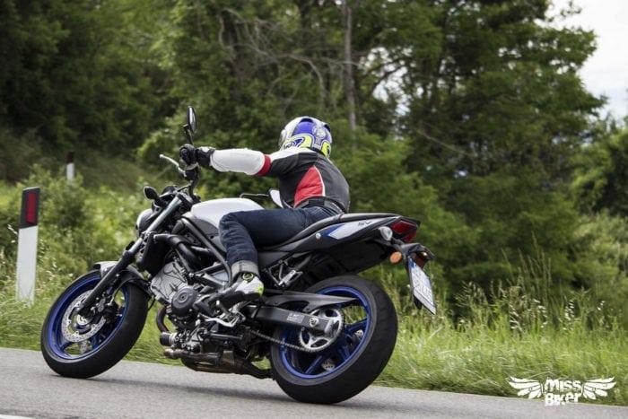Test MissBiker: la nuova Suzuki SV650 - torna la fun bike 31