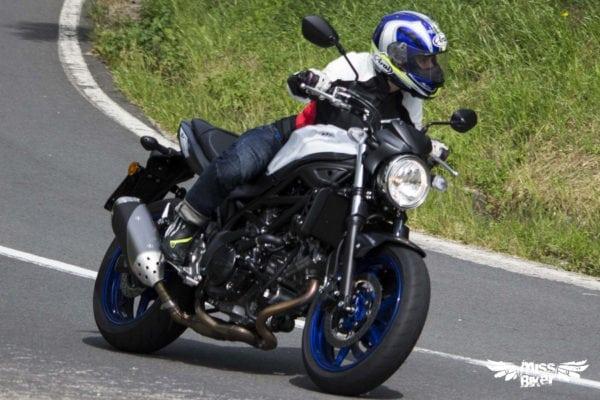 Test MissBiker: la nuova Suzuki SV650 - torna la fun bike 15