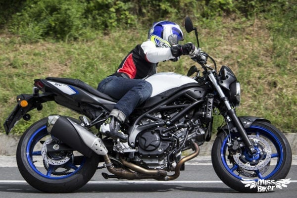Test MissBiker: la nuova Suzuki SV650 - torna la fun bike 17