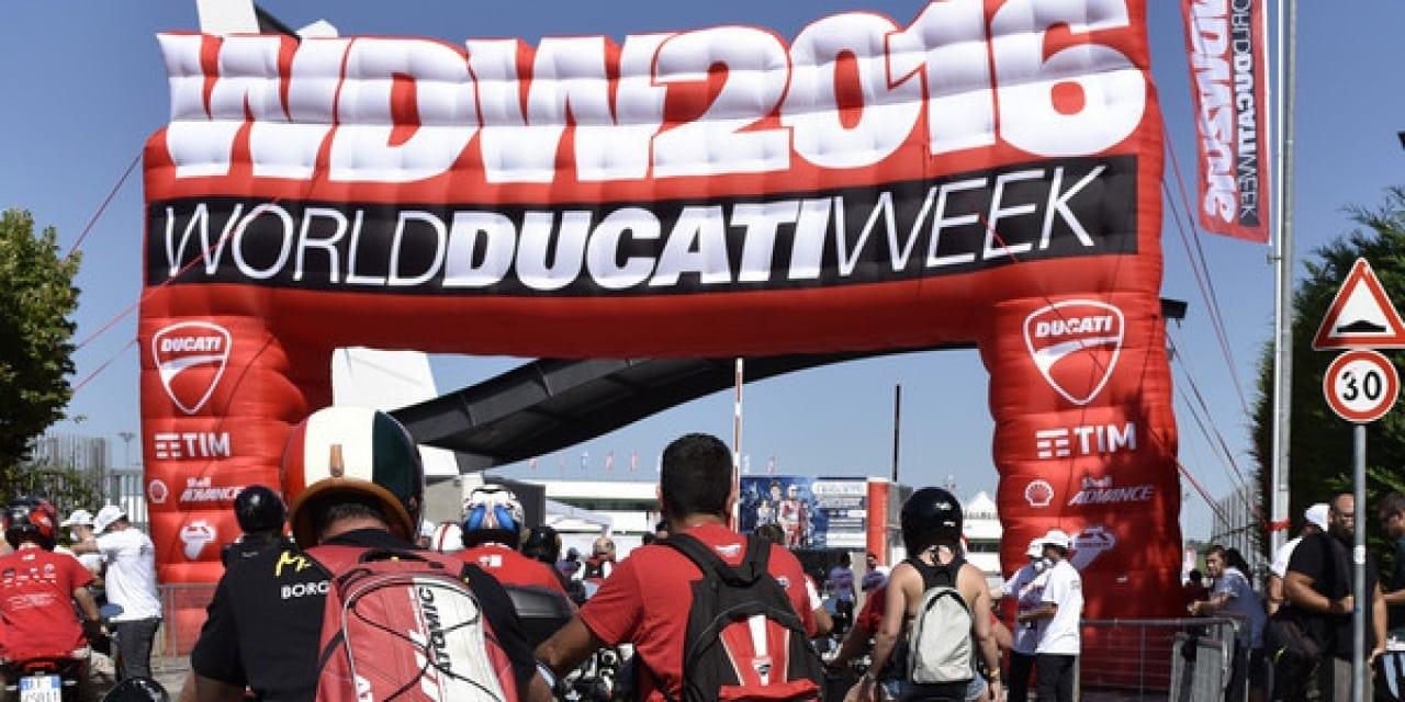 World Ducati Week 2016