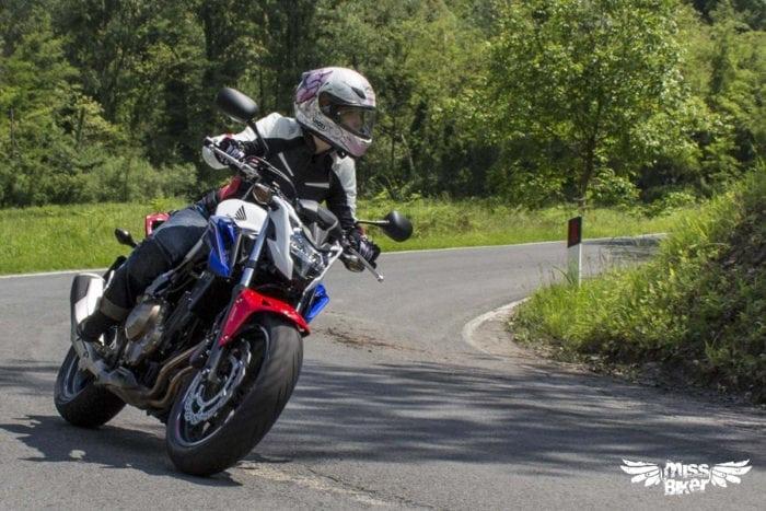 Test MissBiker: Honda CB500f 20