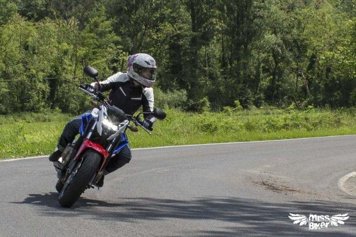 Test MissBiker: Honda CB500f 21