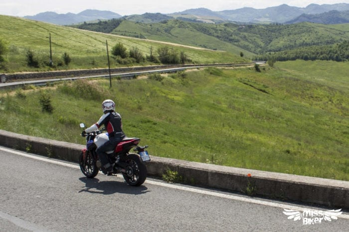 Test MissBiker: Honda CB500f 27