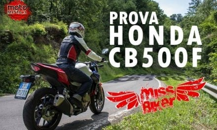 Test MissBiker: Honda CB500f