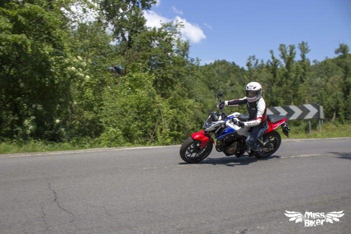 Test MissBiker: Honda CB500f 12
