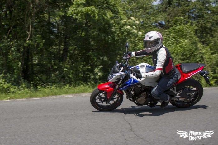 Test MissBiker: Honda CB500f 13