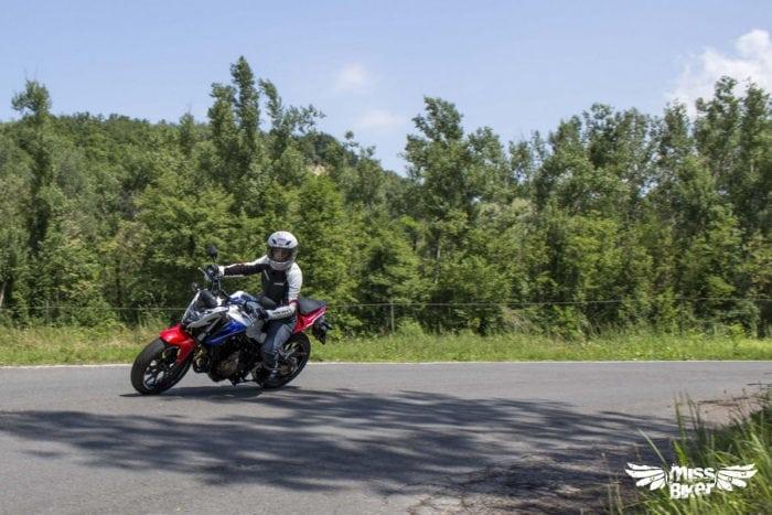 Test MissBiker: Honda CB500f 14