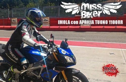 Un'equazione motomaniacale: Aprilia Tuono 1100RR in pista a Imola