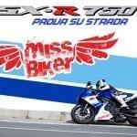 Test MissBiker: Suzuki GSXR 750 30° ANNIVERSARY