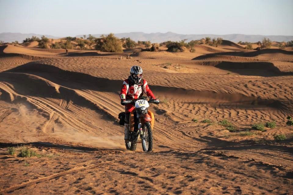 Francesca Merlo al Sahara Desert Challenge