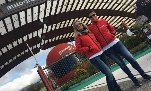 MissBiker al Campionato Italiano Velocità
