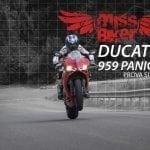Ducati 959 Panigale: la prova su strada
