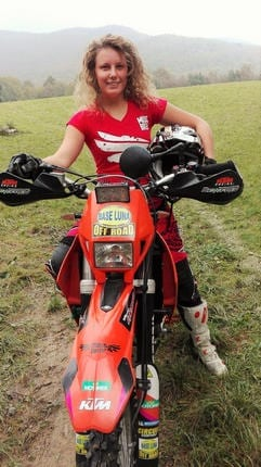 Francesca Merlo: pilota ufficiale MissBiker 3
