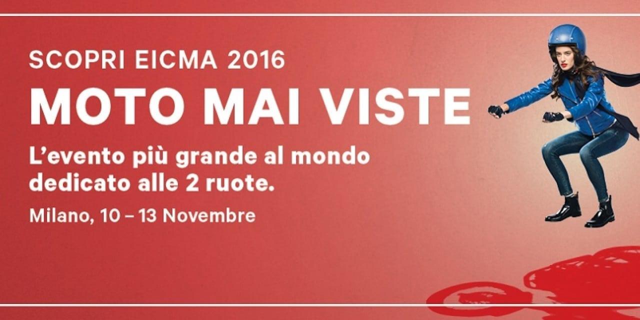 Appuntamento MissBiker a EICMA 2016