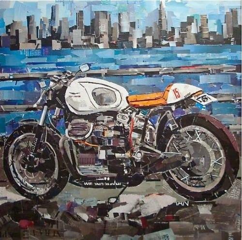 Mauro Spinelli: ritagli d'arte motociclistica 1