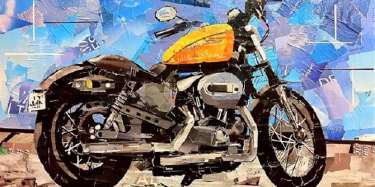 Mauro Spinelli: ritagli d'arte motociclistica