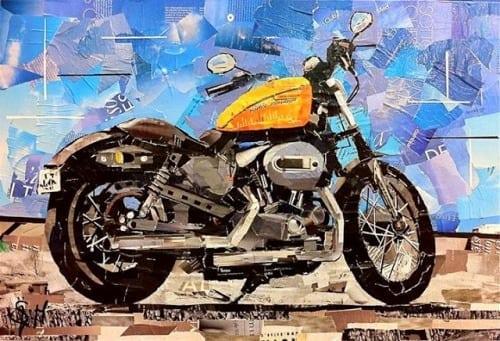 Mauro Spinelli: ritagli d'arte motociclistica 3