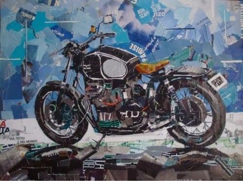 Mauro Spinelli: ritagli d'arte motociclistica 4