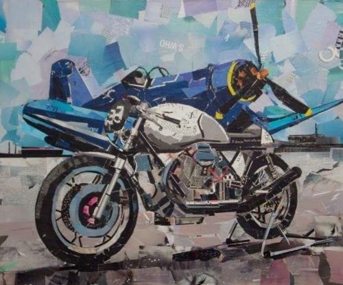 Mauro Spinelli: ritagli d'arte motociclistica 5