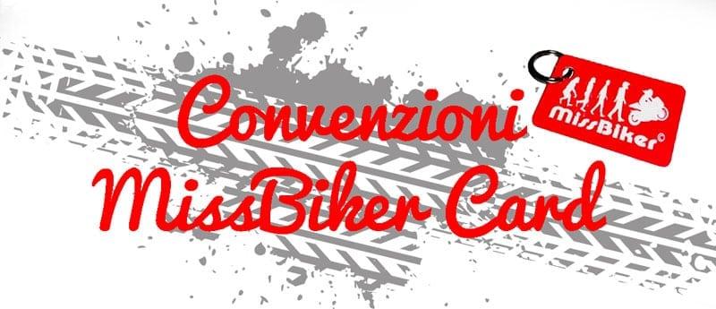 Convenzioni MissBiker