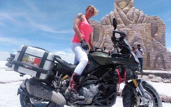 Stefania Gnoato: la motoviaggiatrice in viaggio in solitaria nel Sud America