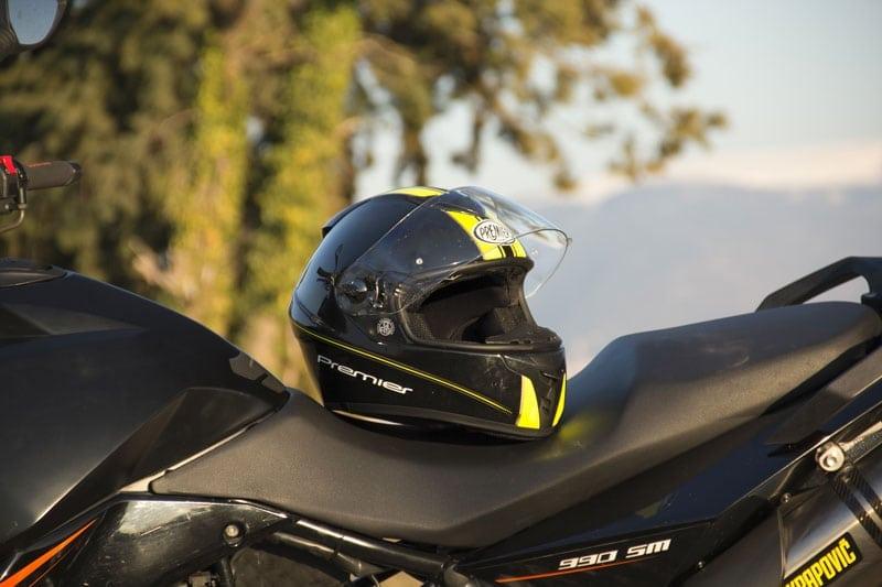 Test: casco integrale Premier Dragon EVO TY Fluo