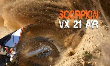 Nuovo SCORPION VX 21 AIR: la corazza del predatore!