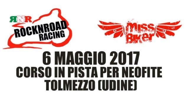 6 maggio 2017: corso in pista per neofite a Tolmezzo (UD)