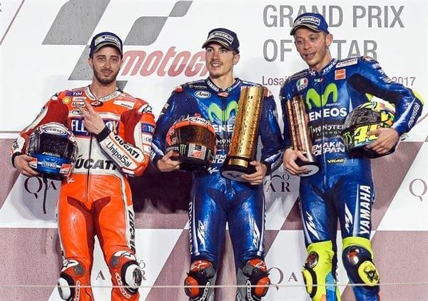 Moto GP: si riparte da Losail