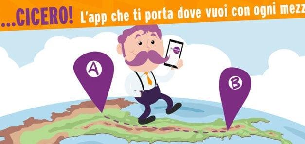 MyCicero: l'App che ti porta dove vuoi con ogni mezzo