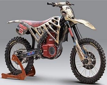 HONDA E-REX: la moto elettrica ispirata al T-Rex