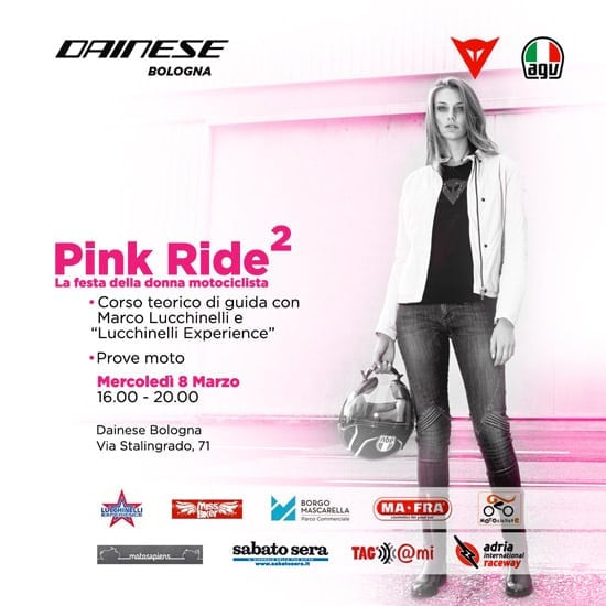 Pink Ride 2: MissBiker con Motosapiens per l'evento dedicato alle donne