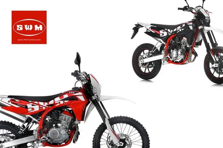 """SWM MOTORCYCLES presenta """"RS 125 R"""" E """"SM 125 R"""""""