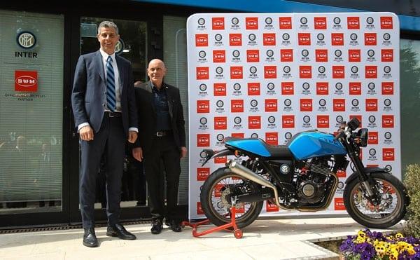 SWM MOTORCYCLES DIVENTA OFFICIAL PARTNER DI F.C.  INTERNAZIONALE