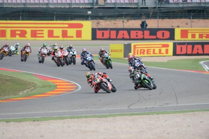 WorldSBK a Motorland Aragón: Pneumatici Pirelli da record