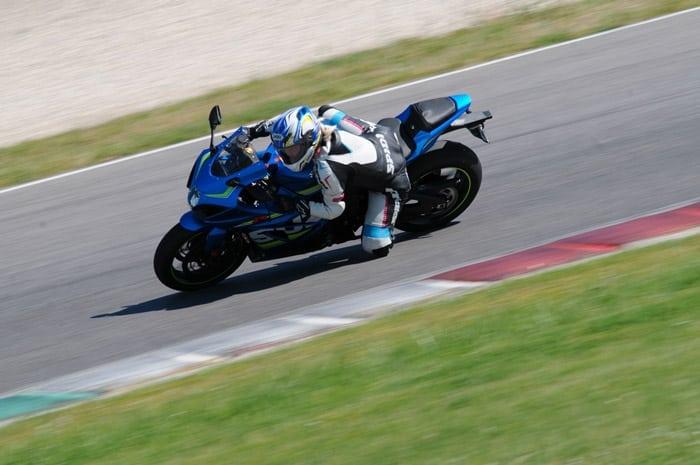 Test: nuova Suzuki Gsxr 1000 2017 e Kevin Schwantz al Mugello