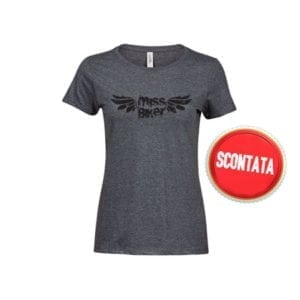 Cool vintage inspired T-shirt in melange 50/50 fabric. This T-shirt is super soft and have the perfect fashion fit.