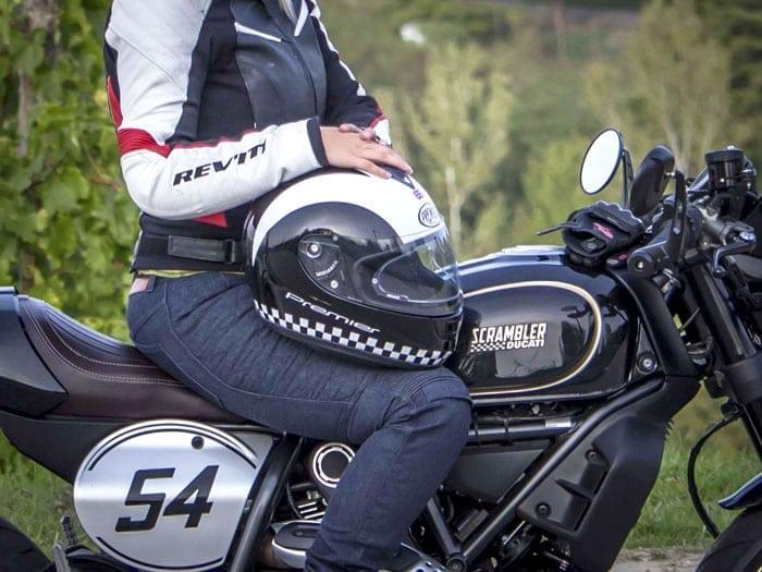 Test: casco Premier Monza Retro