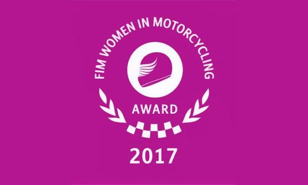 MISSBIKER candidata al premio FIM WOMEN 2017