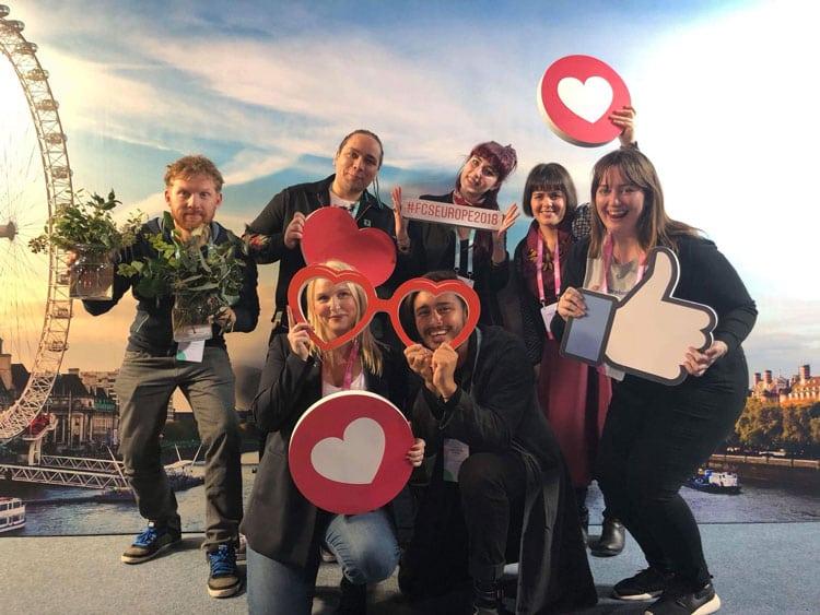La Forza delle Communties   MissBiker al FCSEUROPE2018