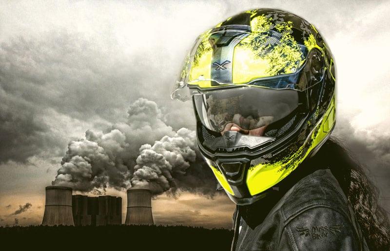 Test casco NEXX SX 100 Toxic: estetica e funzionalità