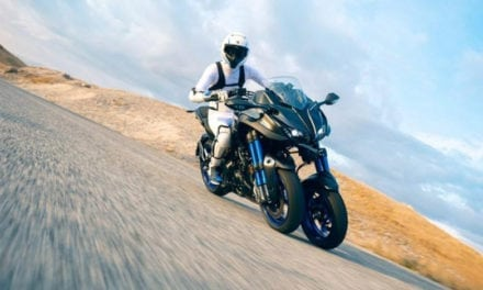 Test Yamaha Niken: divertimento e sicurezza