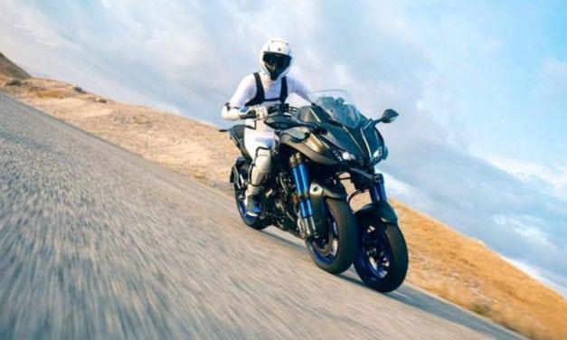 Test Yamaha Niken: divertimento e sicurezza