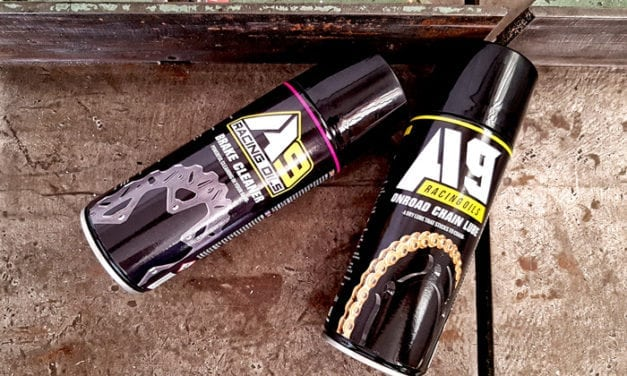 Test A9 Spray catena per moto su strada