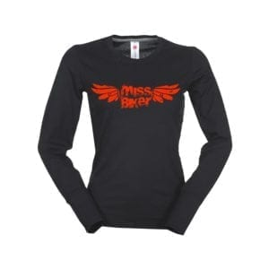 Long Sleeve MissBiker Rock