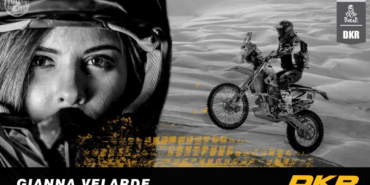 Gianna Velarde ha battuto il cancro e correrà la Dakar Rally 2019
